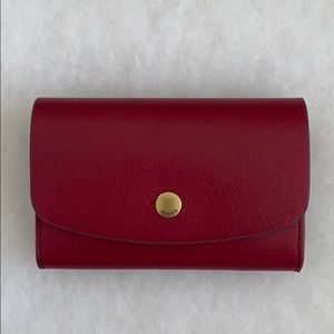 NWT Fossil Haven Card Case Raspberry Wine